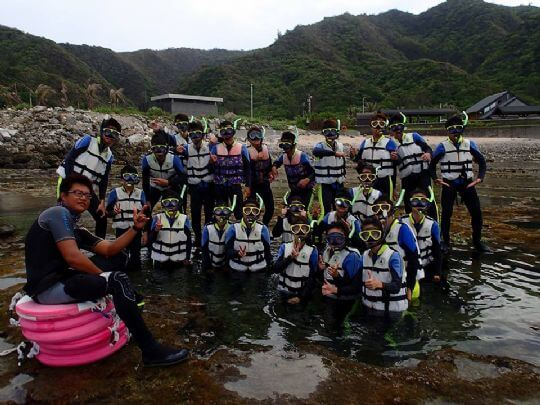 綠島浮潛活動 相片來源:綠島長泰海景民宿
