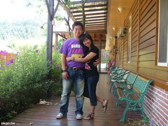 小戴伉儷今年三度回鄉下的家 相片來源:九族民宿渡假小屋