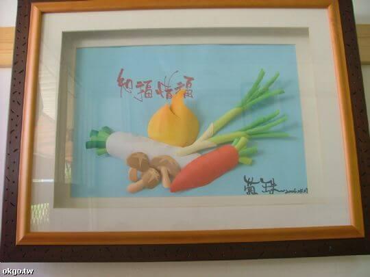 紙雕作品 相片來源:九族民宿渡假小屋