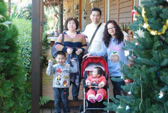 我也是李怡萱 相片來源:九族民宿渡假小屋