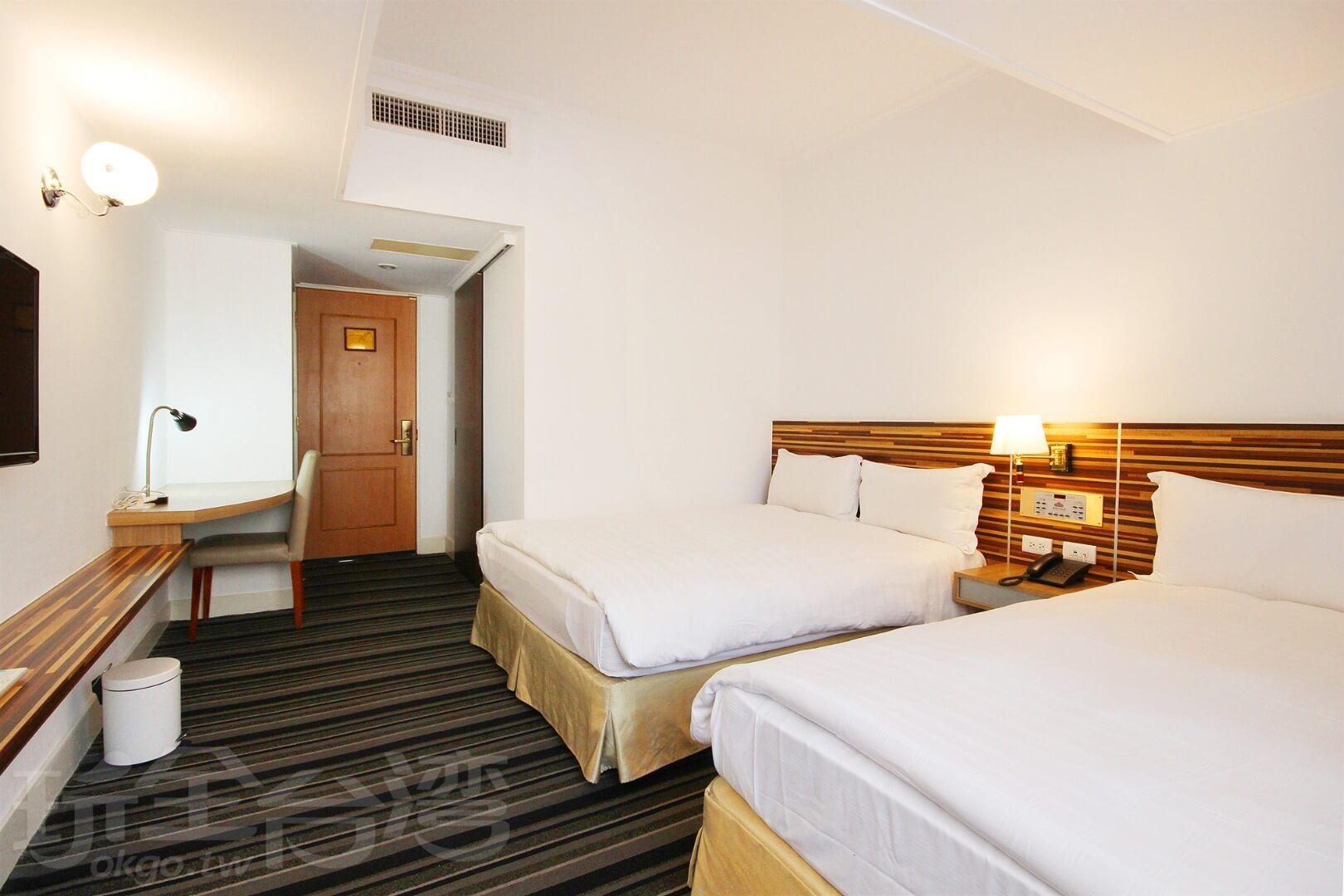 四人房(兩大床) 相片來源:新朝代飯店