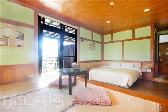 B17和風日式景觀套房(獨立陽台) 相片來源:清境天祥景觀民宿