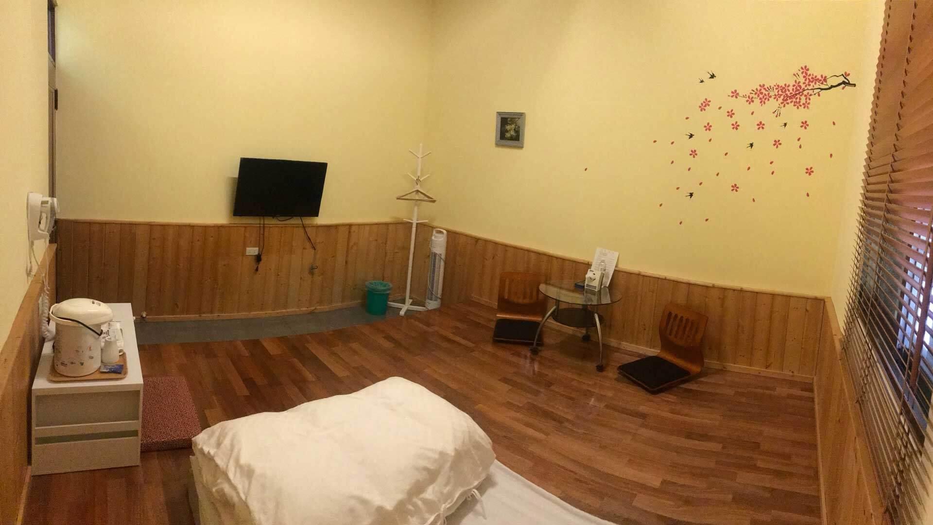 和室雅房(浴室在外) 相片來源:清境天祥景觀民宿