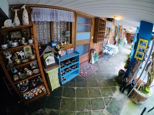 我住藍色門 相片來源:瑞里阿喜紫藤民宿