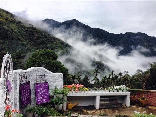 我住紫色門 相片來源:瑞里阿喜紫藤民宿