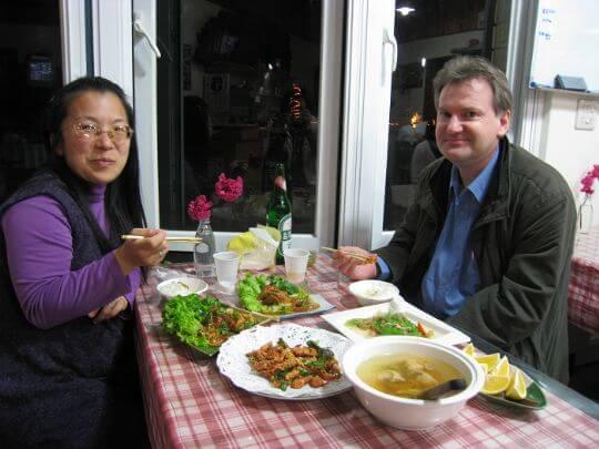 茶壺的外國朋友 相片來源:瑞里茶壺民宿