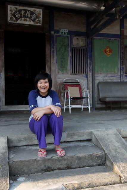 開心美少女^^  相片來源:瑞里幼葉的林民宿