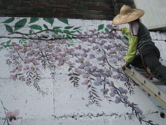 彩繪-瑞里 相片來源:瑞里幼葉的林民宿