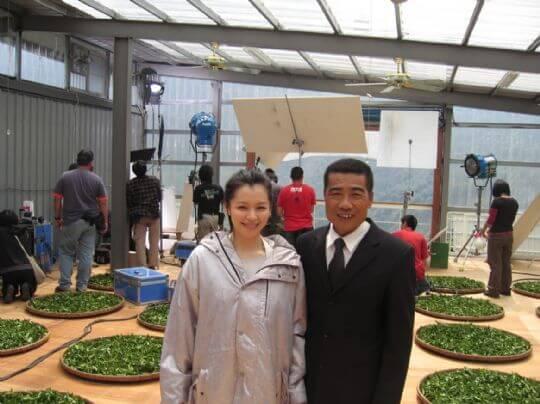 蔡爸爸和徐若萱 相片來源:竹山天梯山林瓦舍民宿