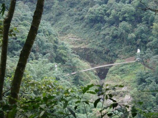 玉福吊橋 相片來源:竹山天梯山林瓦舍民宿