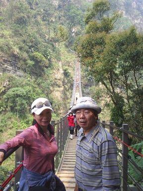 歐吉桑遊天梯 相片來源:竹山天梯山林瓦舍民宿