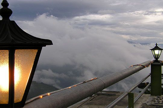 觀景露台景致 相片來源:拉拉山民宿‧桃花源農莊