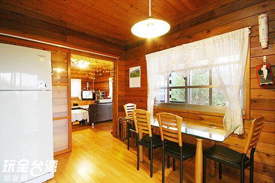 別墅內的廚房 相片來源:拉拉山觀雲休憩農莊