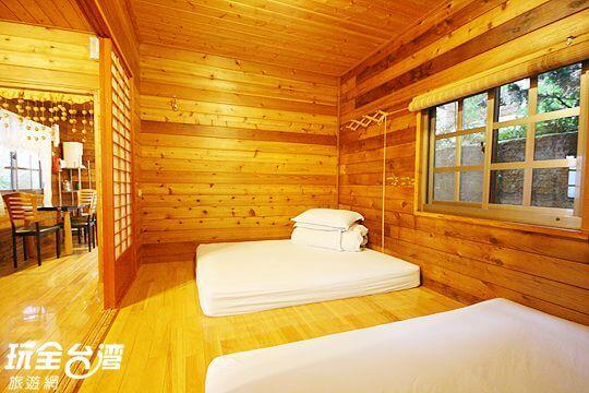 和室四人房 相片來源:拉拉山觀雲休憩農莊