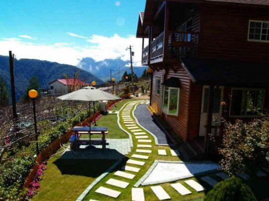 室外庭園 相片來源:拉拉山觀雲休憩農莊