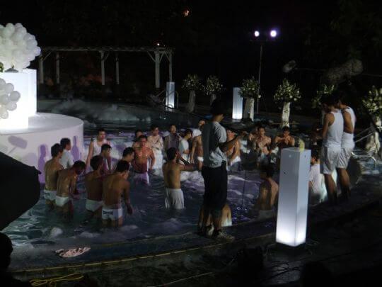《女朋友。男朋友》劇組 相片來源:淡水淡江農場