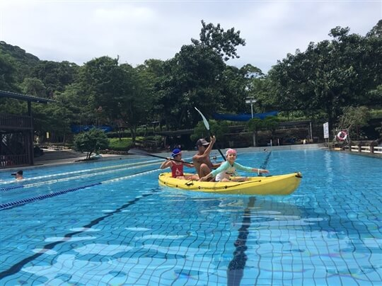 獨木舟 相片來源:淡水淡江農場
