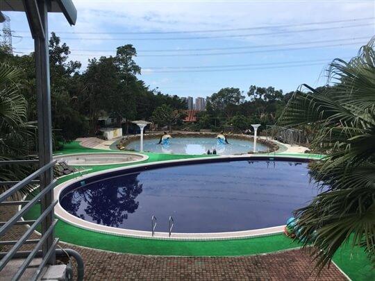 戲水中池 相片來源:淡水淡江農場