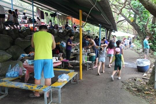 烤肉區 相片來源:淡水淡江農場