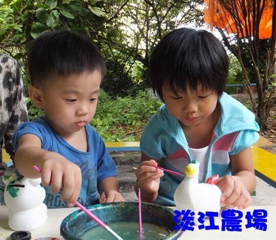 陶瓷彩繪 相片來源:淡水淡江農場