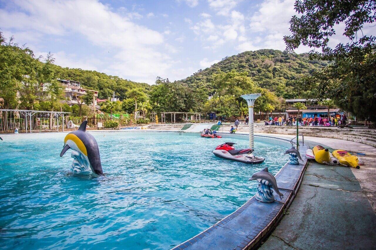 海豚池 相片來源:淡水淡江農場