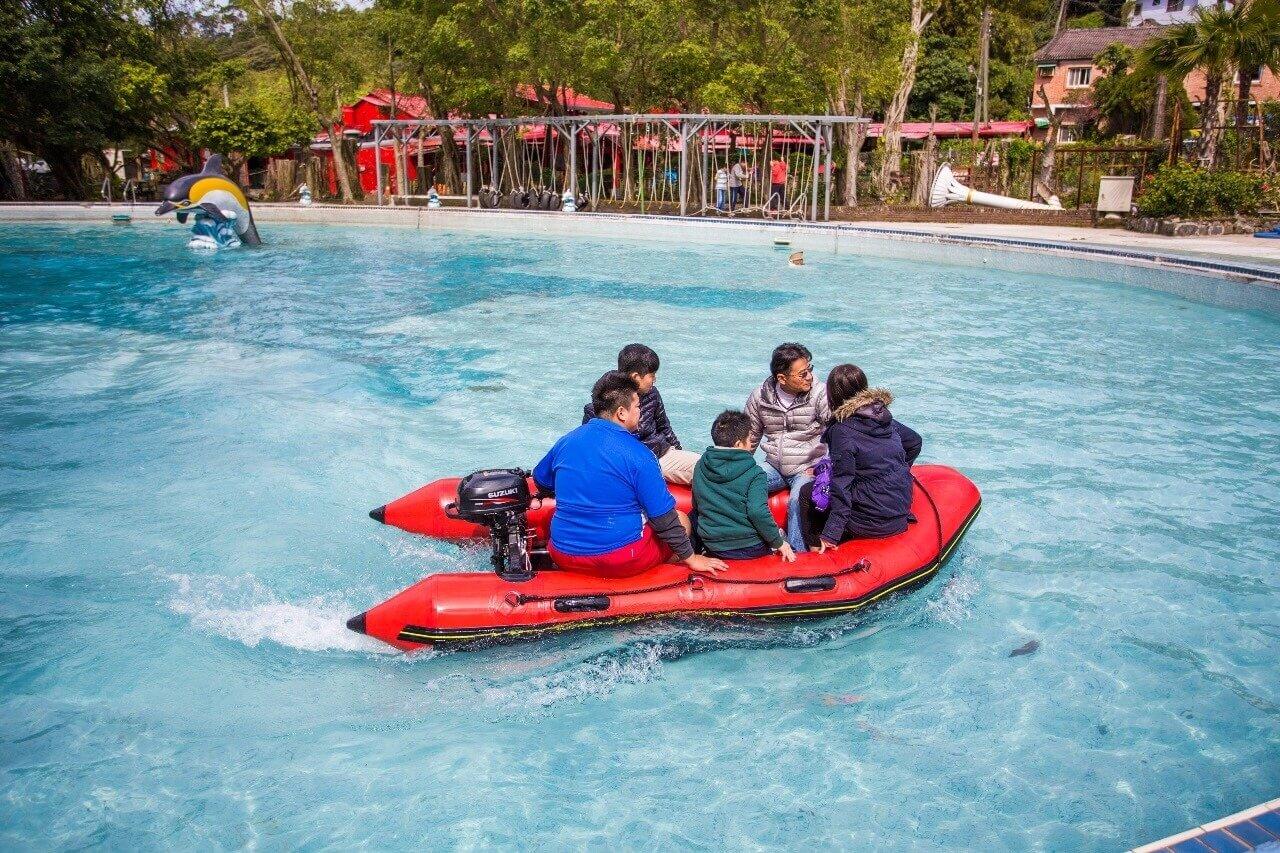 水上救生艇 相片來源:淡水淡江農場