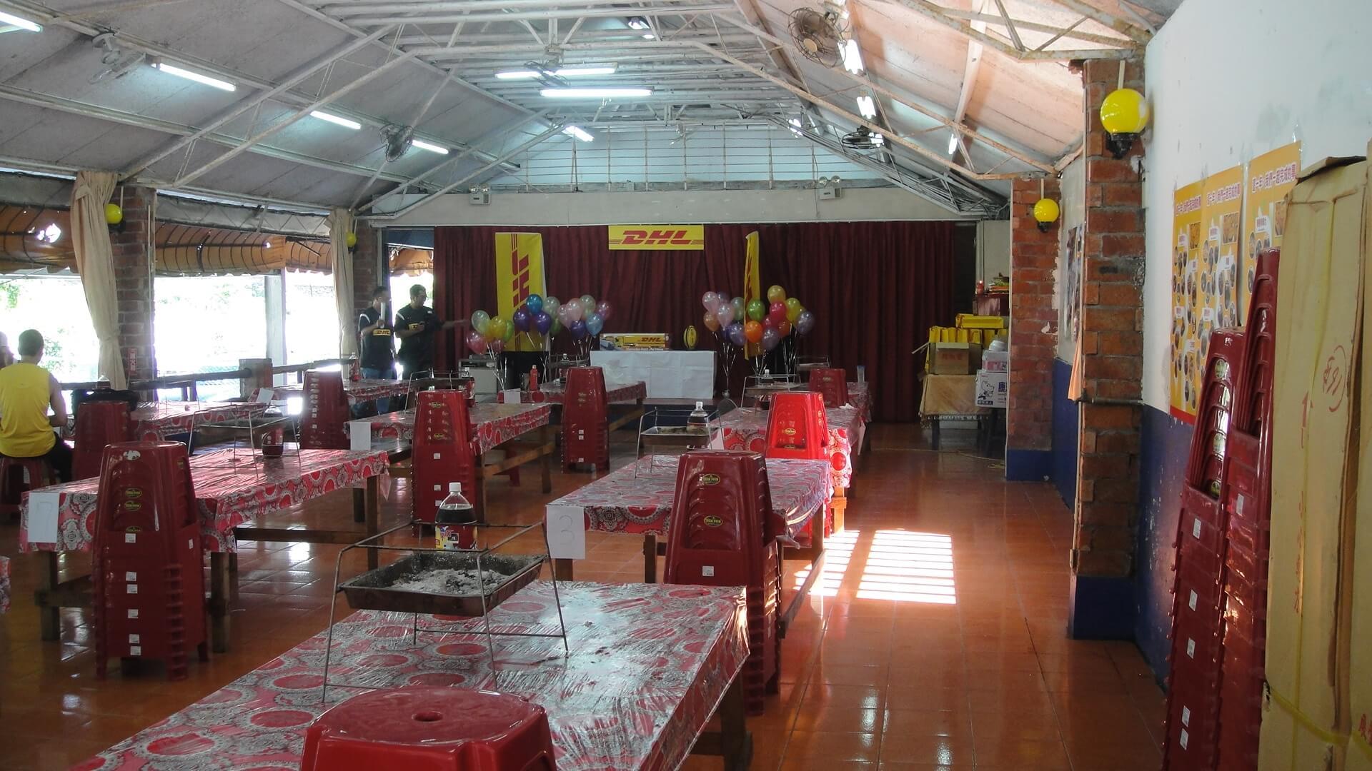室內烤肉區 相片來源:淡水淡江農場