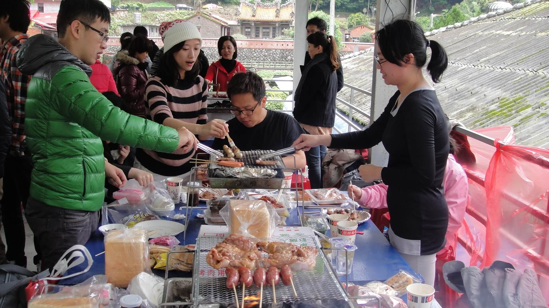 烤肉 相片來源:淡水淡江農場