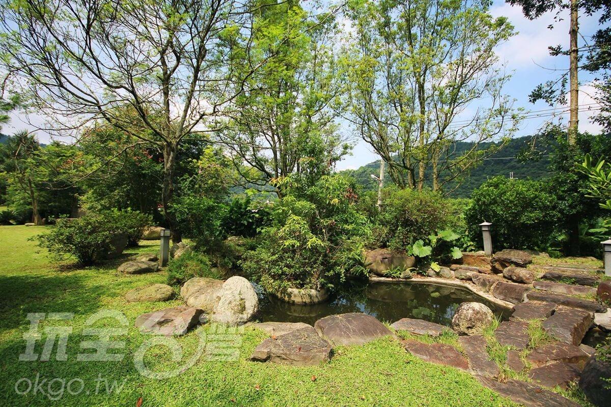園區景緻 相片來源:埔里鯉魚潭七里山瑭民宿咖啡