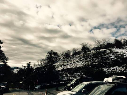 20160124下雪 相片來源:清境春大地渡假山莊民宿