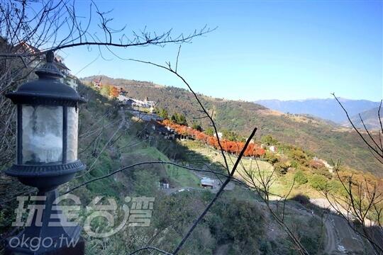 清境民宿~春大地景觀