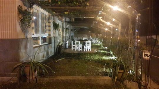 民宿夜間照明 相片來源:十分寮天燈民宿福隆民宿(雙禾庭園民宿)