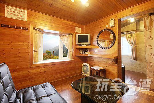 二人景觀木屋