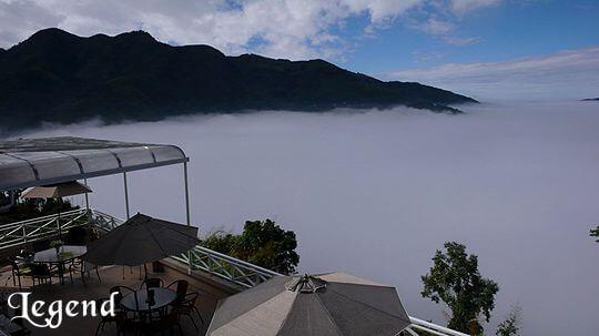 美麗的雲海包圍著瑞里麗景景觀民宿 相片來源:瑞里麗景民宿