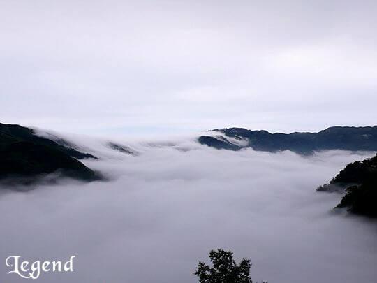 瑞里麗景景觀民宿前方的雲海 相片來源:瑞里麗景民宿