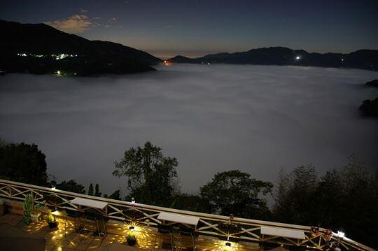 月光雲海 相片來源:瑞里麗景民宿