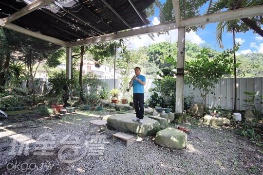 庭園烤肉區