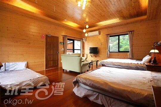 優質獨棟6人木屋