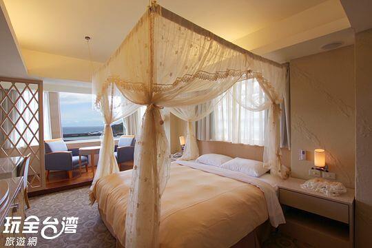 A:蔚藍海景套房