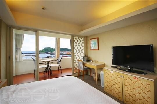 A:蔚藍海景套房 相片來源:基隆蔚藍海景旅店