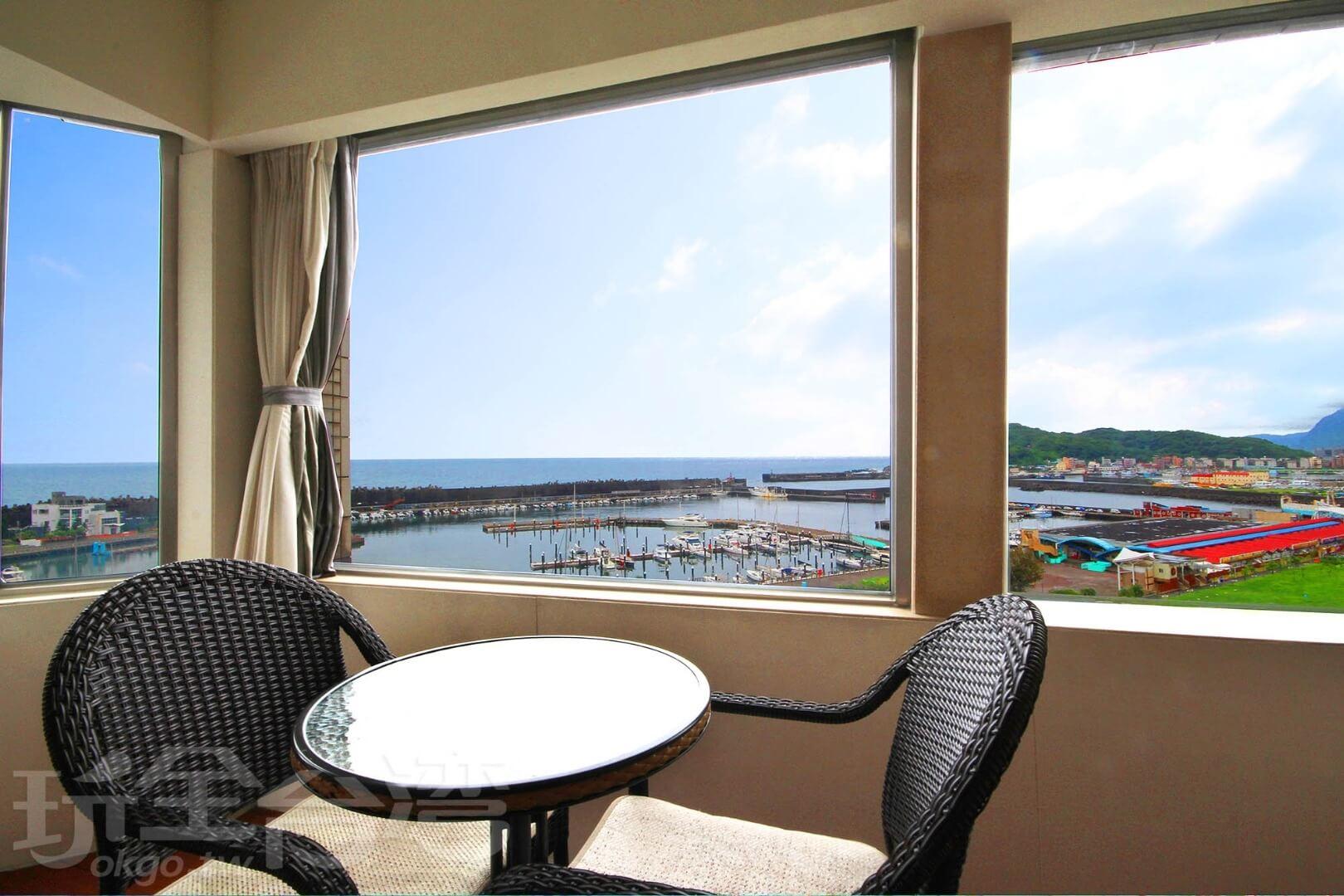 相片來源:基隆蔚藍海景旅店