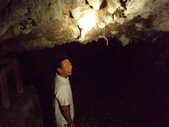 夜遊觀音洞 相片來源:綠島田の家民宿