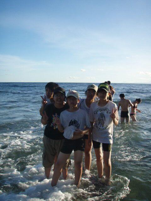 99年7月12-13綠島好天氣 相片來源:綠島田の家民宿