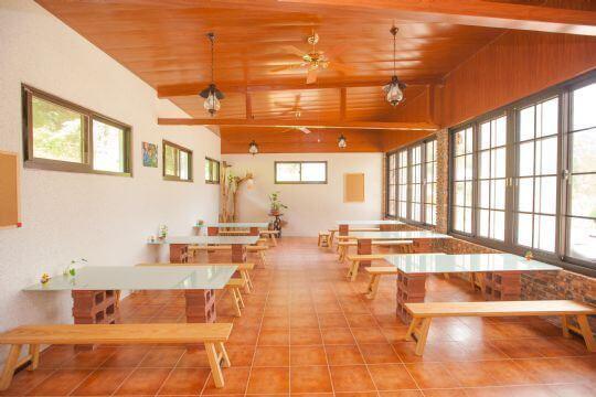 用餐區 相片來源:埔里天籟休閒民宿