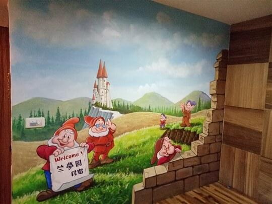 雙人套房-快樂城堡
