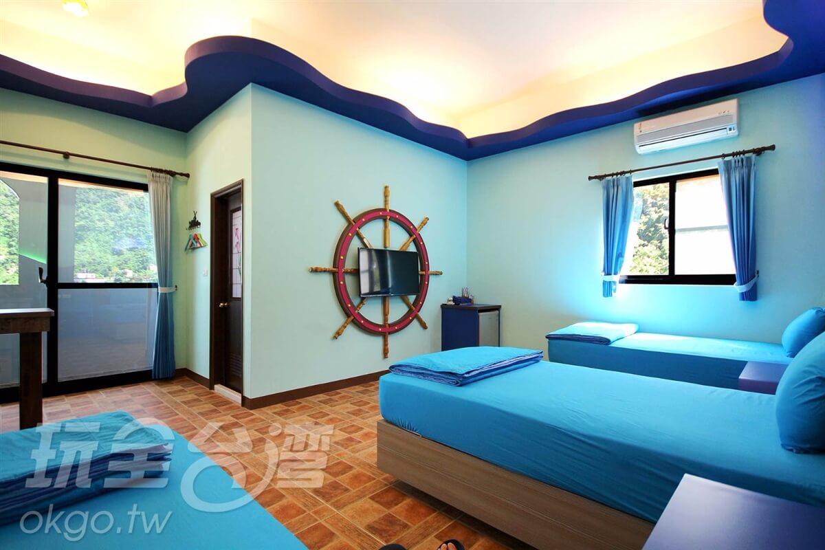 【301】蔚藍海域三人套房