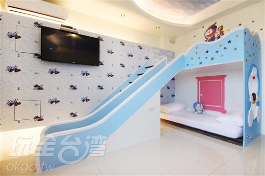 A201 親子溜滑梯房