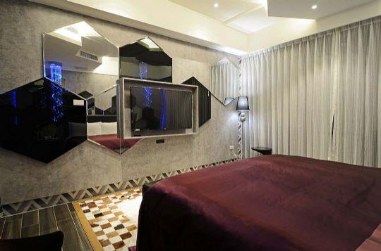 經典時尚房 相片來源:草屯沐悅時尚精品旅館