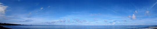 一望無際的天與海 相片來源:台東民宿•擁月星宿(原福樟紅檜木屋)