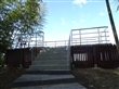 竹林區觀景平台階梯業已完成